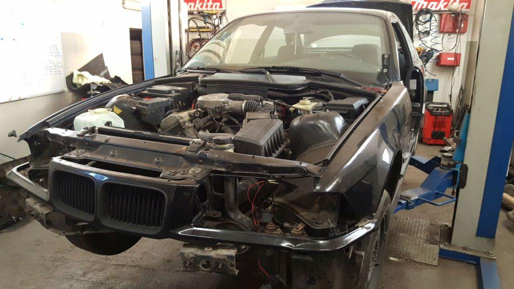 BMW E36 Coupe budowa do driftingu