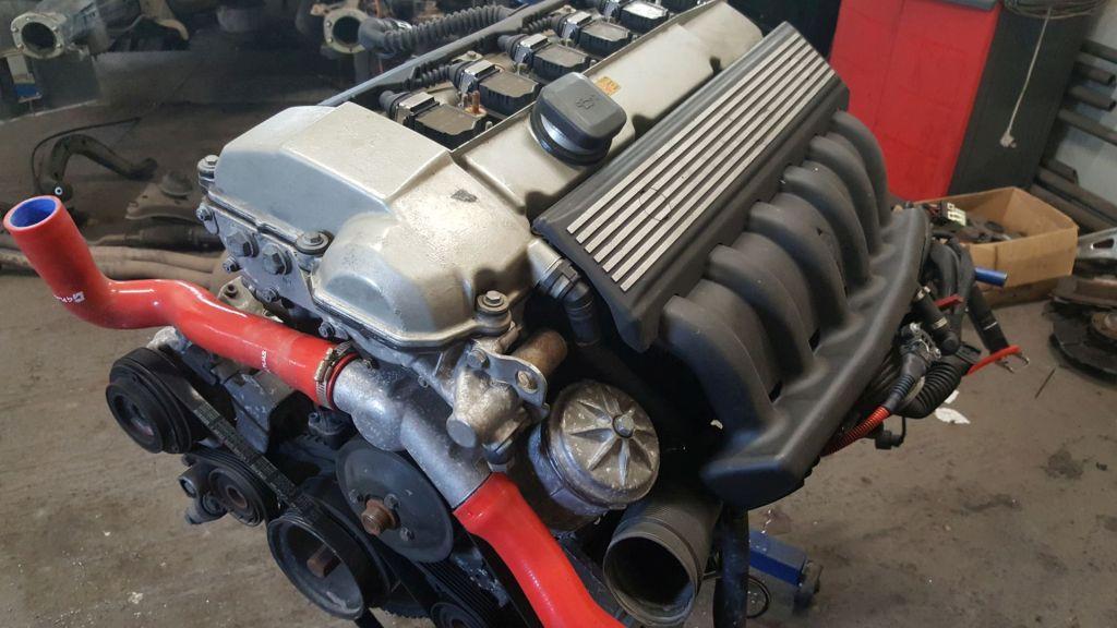 Silnik M52B28 przygotowanie drift rajdy wy\scigi
