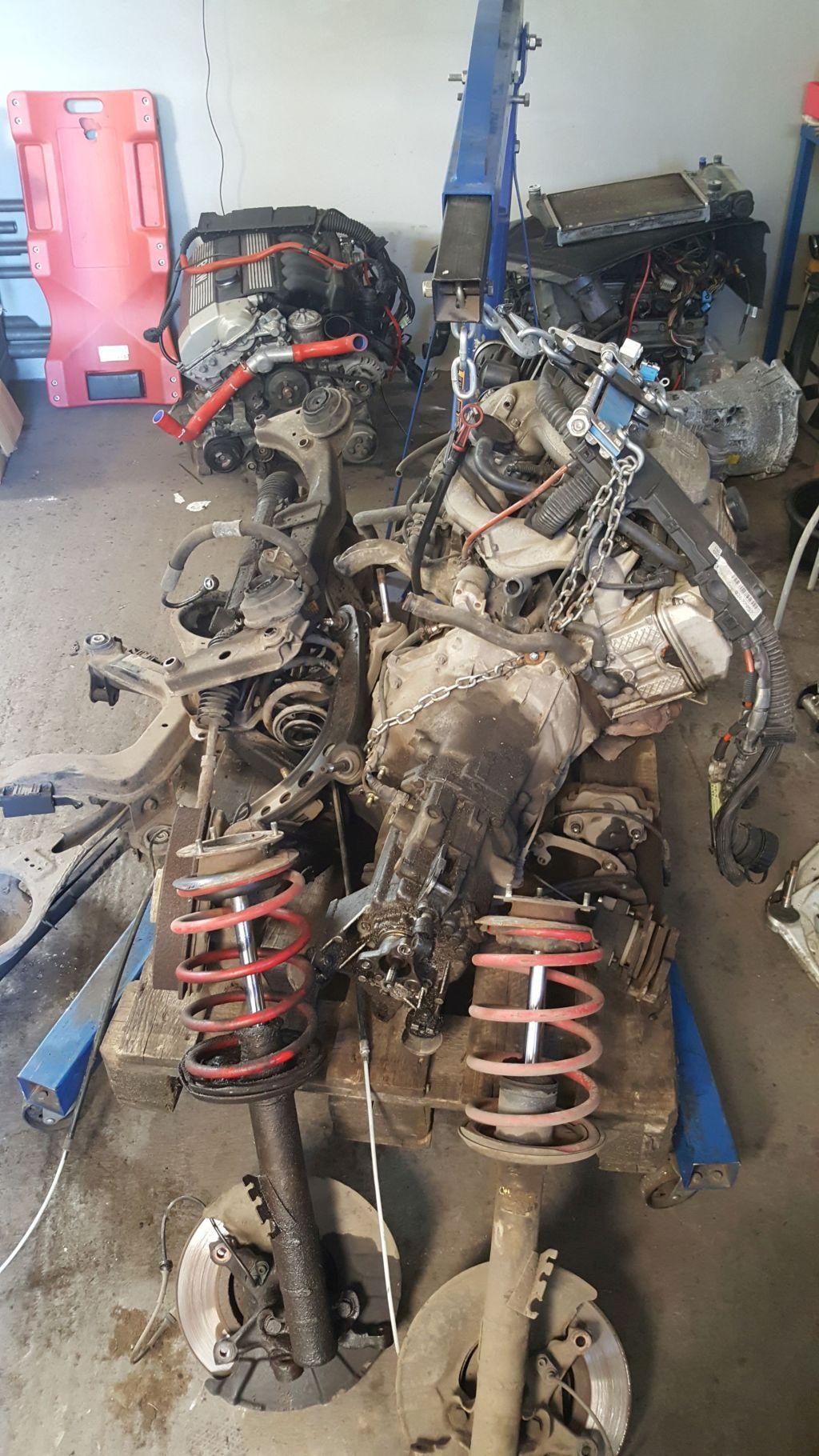 BMW E36 silnik M44B18 i stare oryginalne zawieszenie