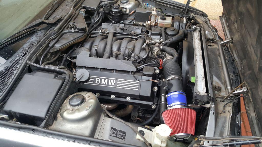 E34 M62B44 swap silnika