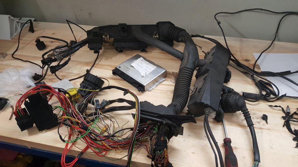 M62B44 swap instalacja elektryczna